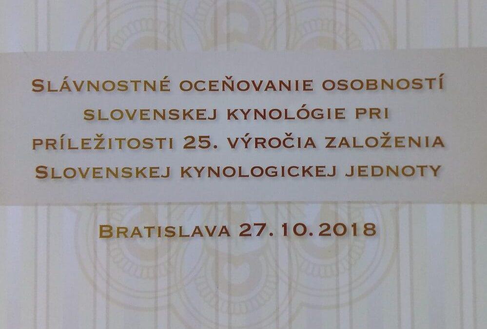 Ocenenia SKJ 2018